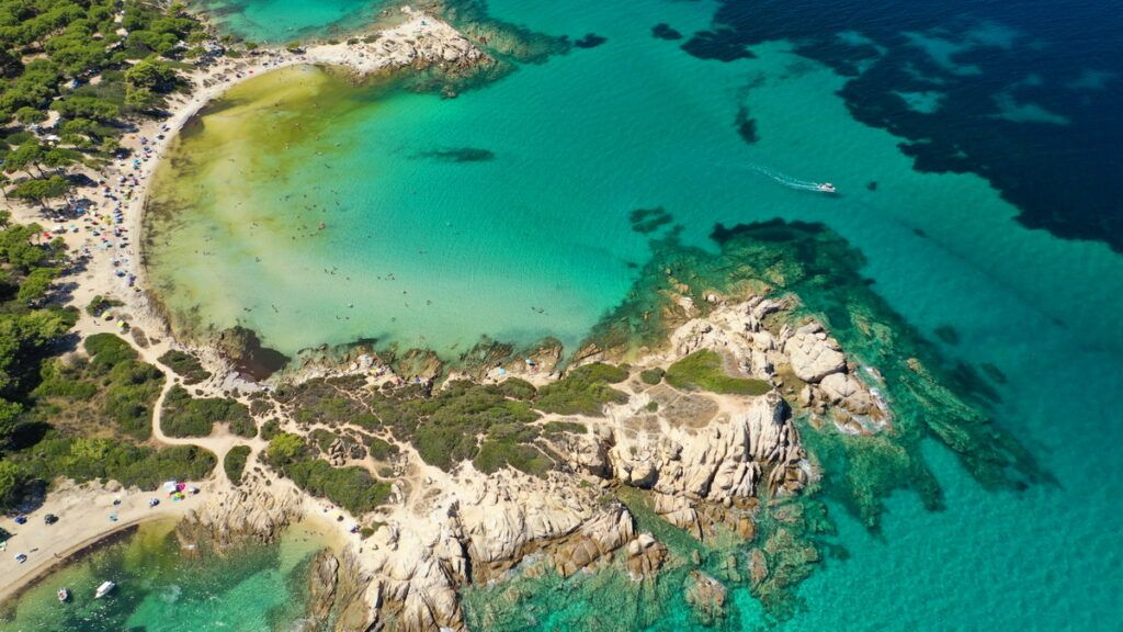 Sithonia beaches - The crystal clear waters of exotic Karidi Beach