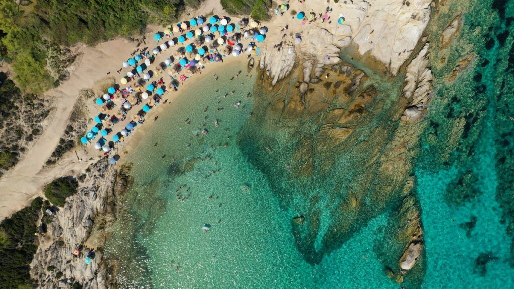 Sithonia Beaches - Sithonia Kavourotripes Beach